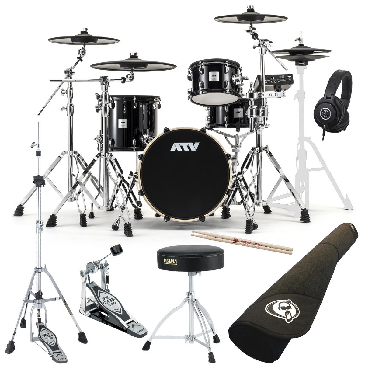 ATV / aDrums artist Standard Set ADA-STDSET 3シンバル TAMAスターターパック プロラケ・マット付き《予約注文/納期12月上旬頃予定》