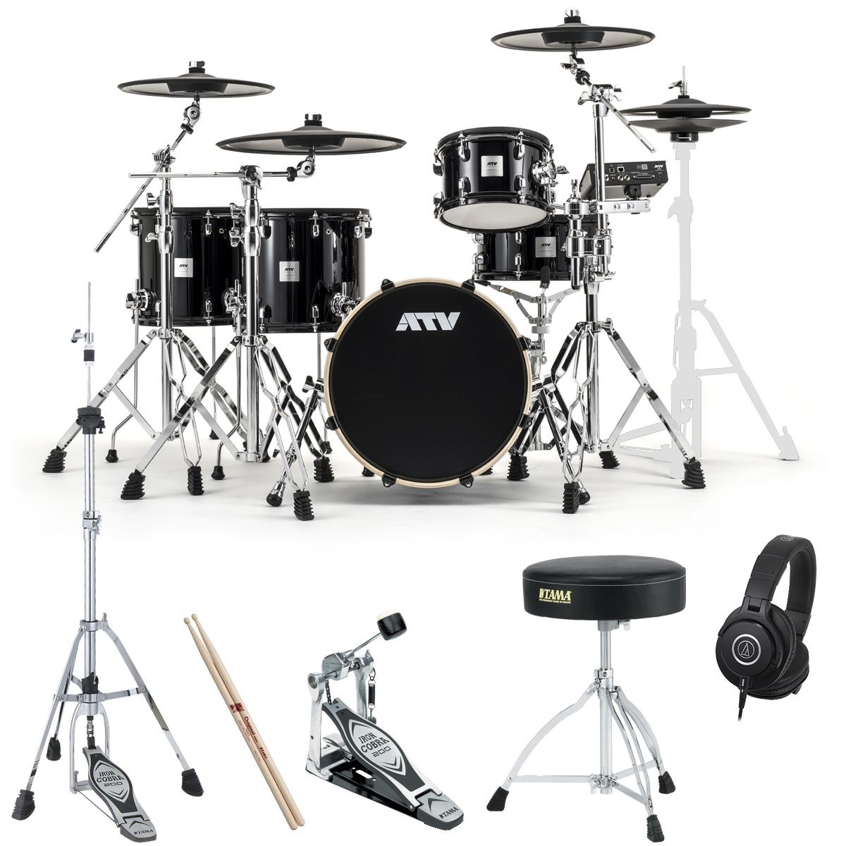 ATV / aDrums artist Standard Set ADA-STDSET 3シンバル2フロアタム TAMAスターパック《予約注文/納期12月上旬頃予定》