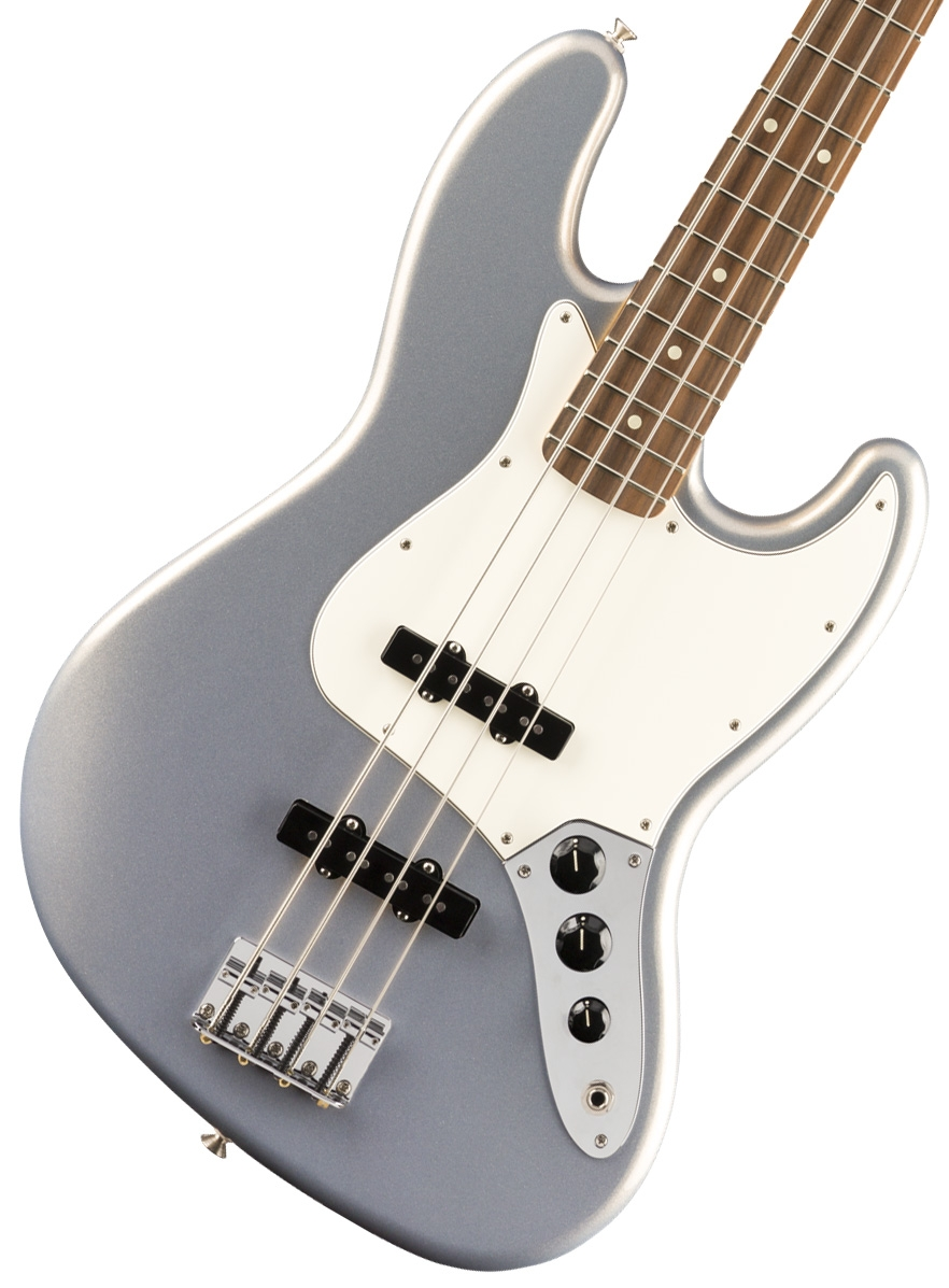 Fender / Player Jazz Bass Pau Ferro Fingerboard Silver フェンダー