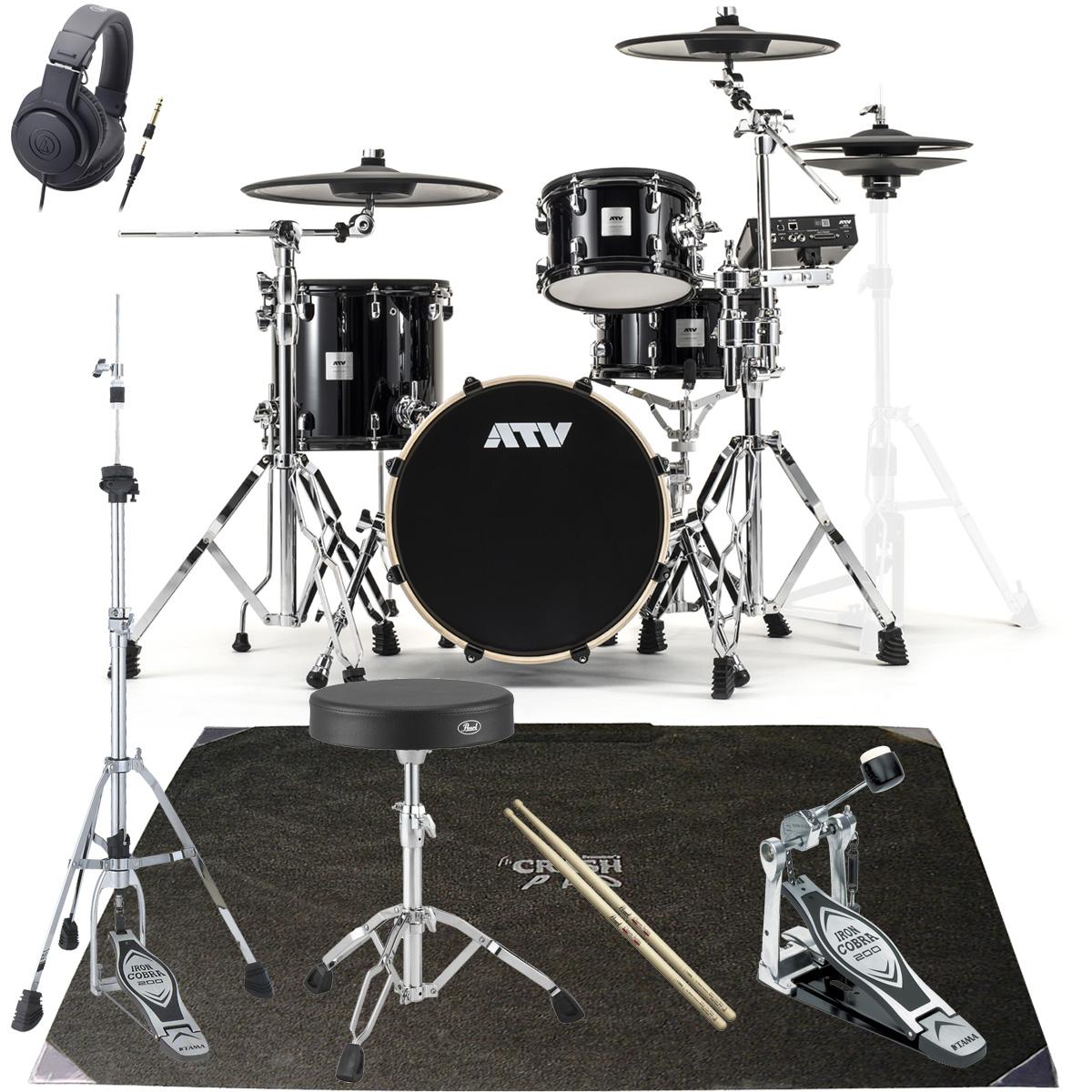 ATV / aDrums artist Standard Set ADA-STDSET オリジナルベーシックパック PEARLマット付き《予約注文/納期12月上旬頃予定》