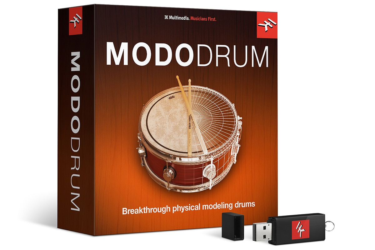 IK Multimedia アイケーマルチメディア / MODO DRUM バーチャ ルドラム音源【お取り寄せ商品】