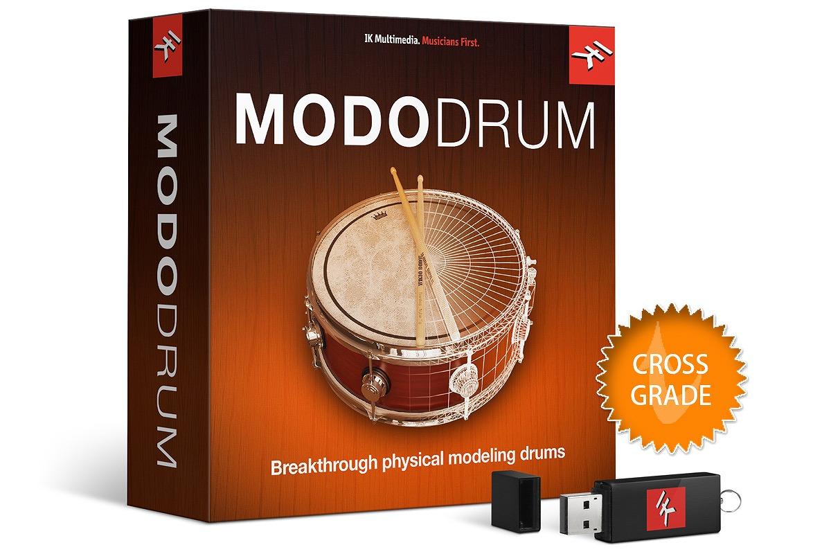 IK Multimedia アイケーマルチメディア / MODO DRUM クロスグレード版 バーチャ ルドラム音源【お取り寄せ商品】