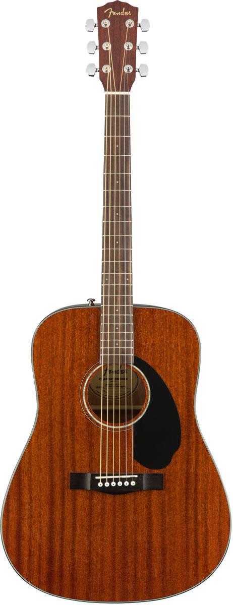 【在庫有り】 Fender Acoustic / CD-60S All Mahogany Dreadnought Walnut Fingerboard フェンダー アコースティックギター アコギ フォークギター CD60S 入門 初心者 【YRK】