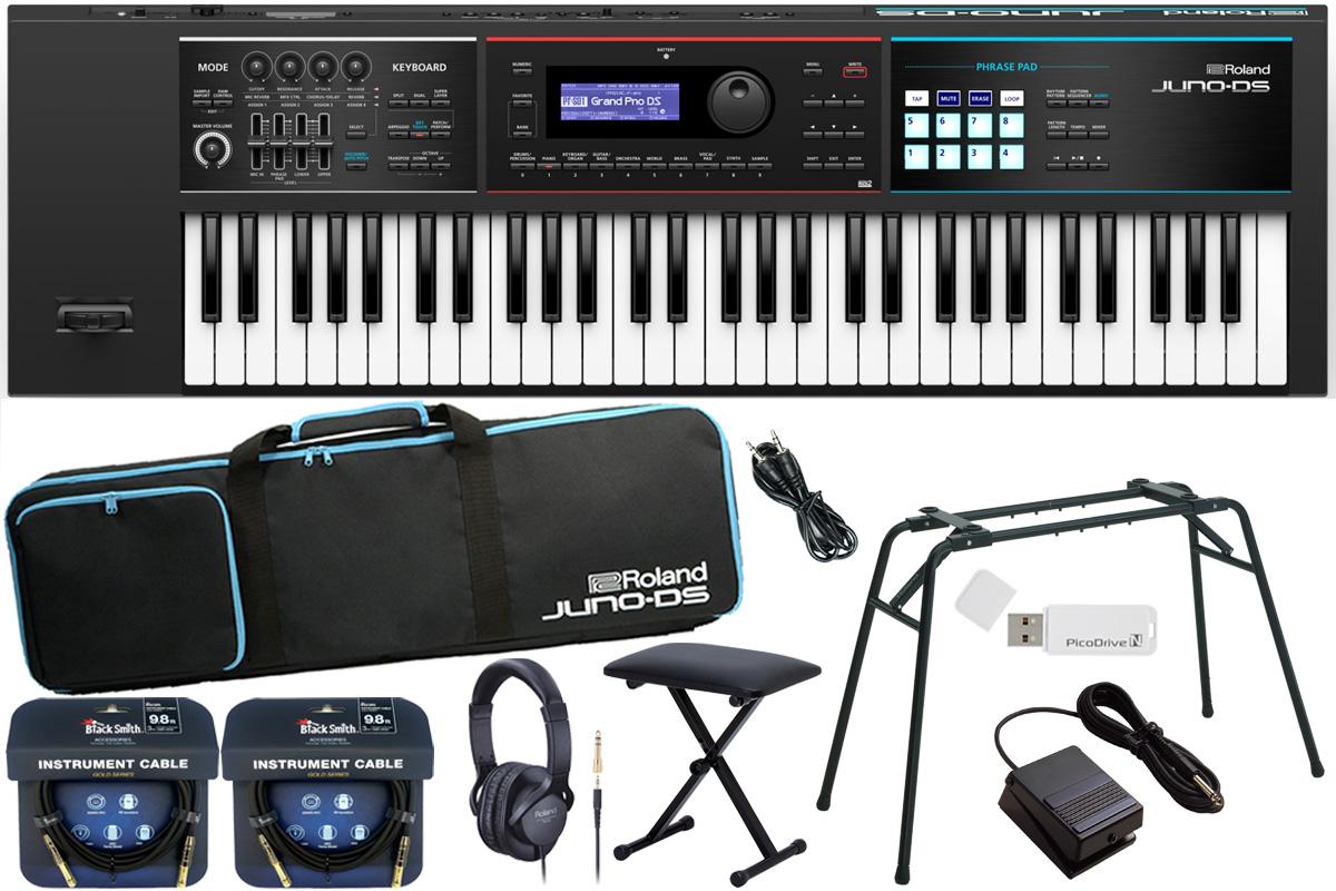 Roland ローランド / JUNO-DS61【数量限定 キーボードベンチ付きスタートセット!】シンセサイザー (JUNO-DS)