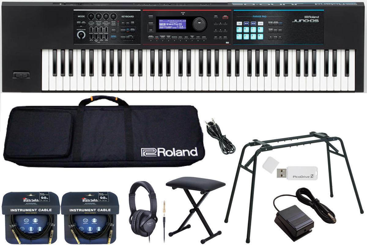 Roland ローランド / JUNO-DS76【数量限定 キーボードベンチ付きスタートセット!】シンセサイザー (JUNO-DS)