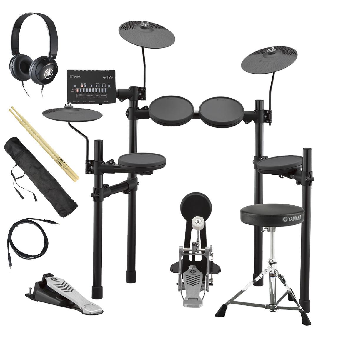 YAMAHA / DTX432KS 電子ドラム ヤマハ純正ヘッドホンとスティックセット【YRK】