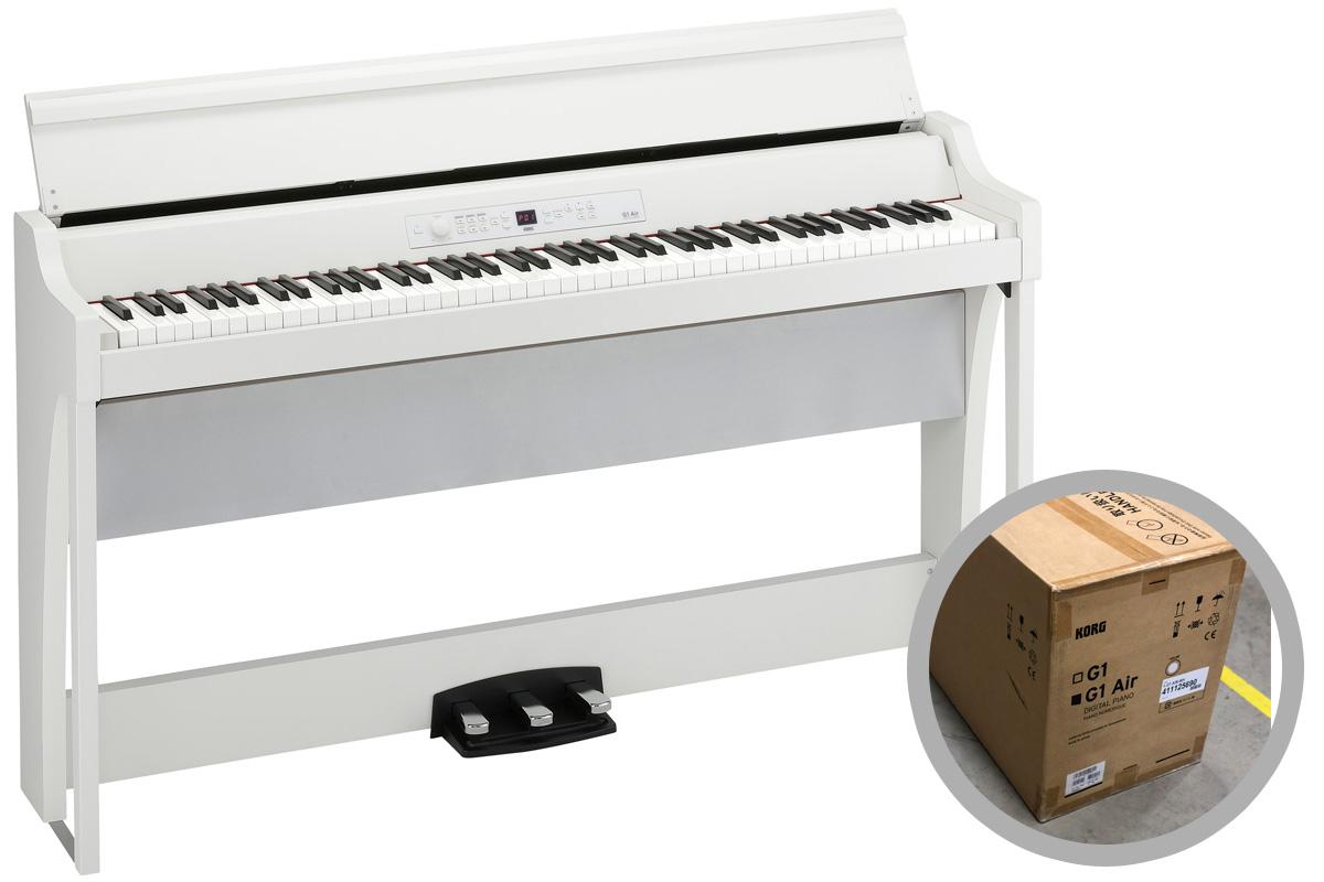 【タイムセール:29日12時まで】KORG コルグ / G1 Air WH ホワイト 電子ピアノ (G1 AIR)【2級品特価!】【YRK】