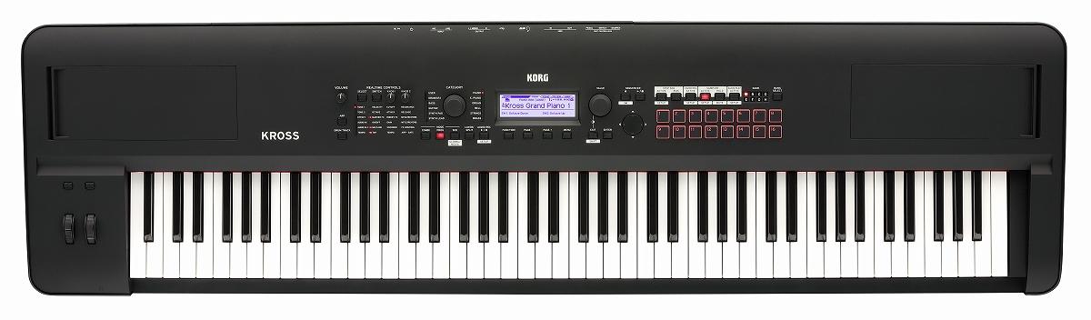 【在庫あり】KORG コルグ / KROSS2-88 MB (スーパー・マット・ブラック) 88鍵盤 オール・イン・ワンシンセサイザー【YRK】