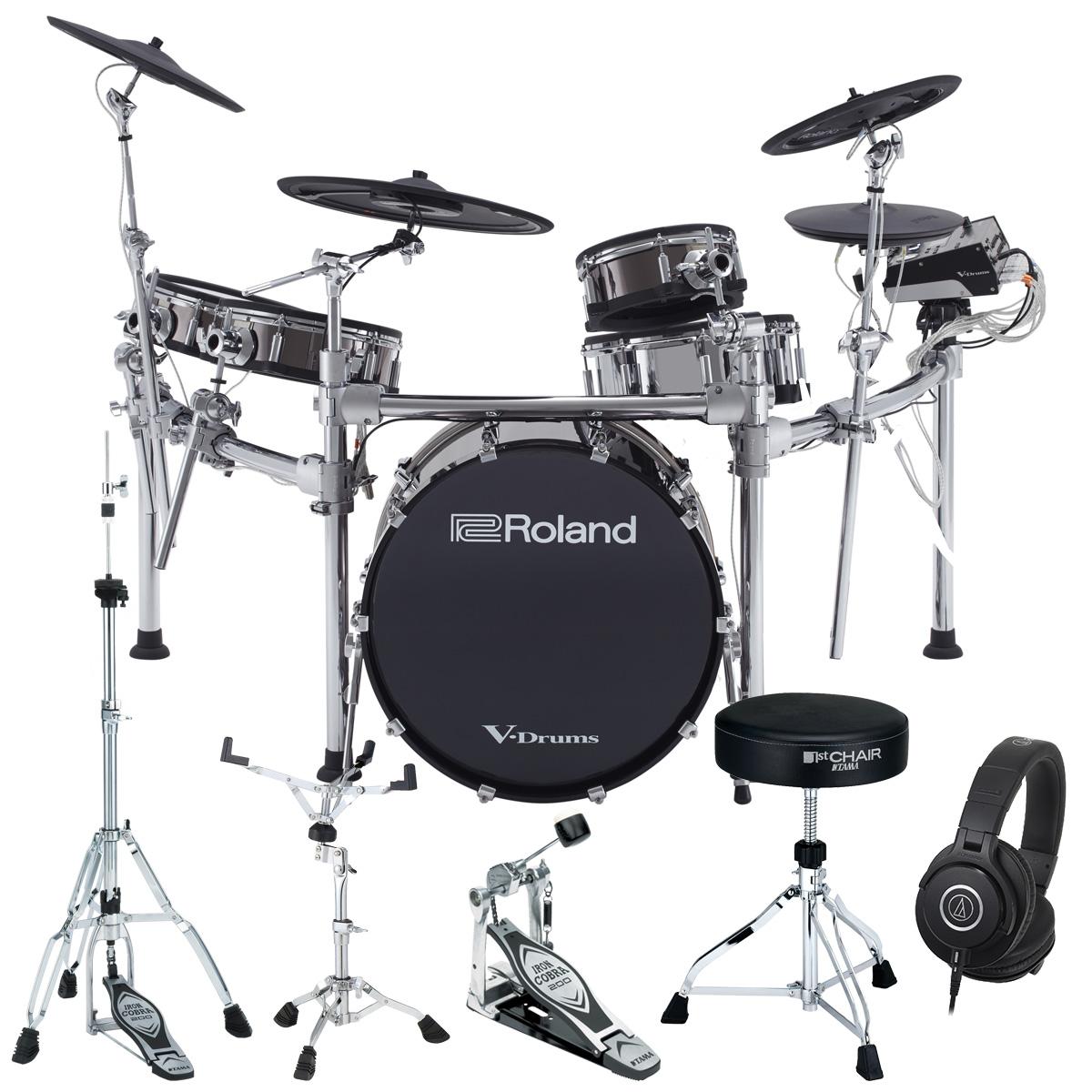 【Rolandキャッシュバック10000円対象】【タイムセール:29日12時まで】Roland Drum System TD-50KVX TAMAスターターパック【YRK】