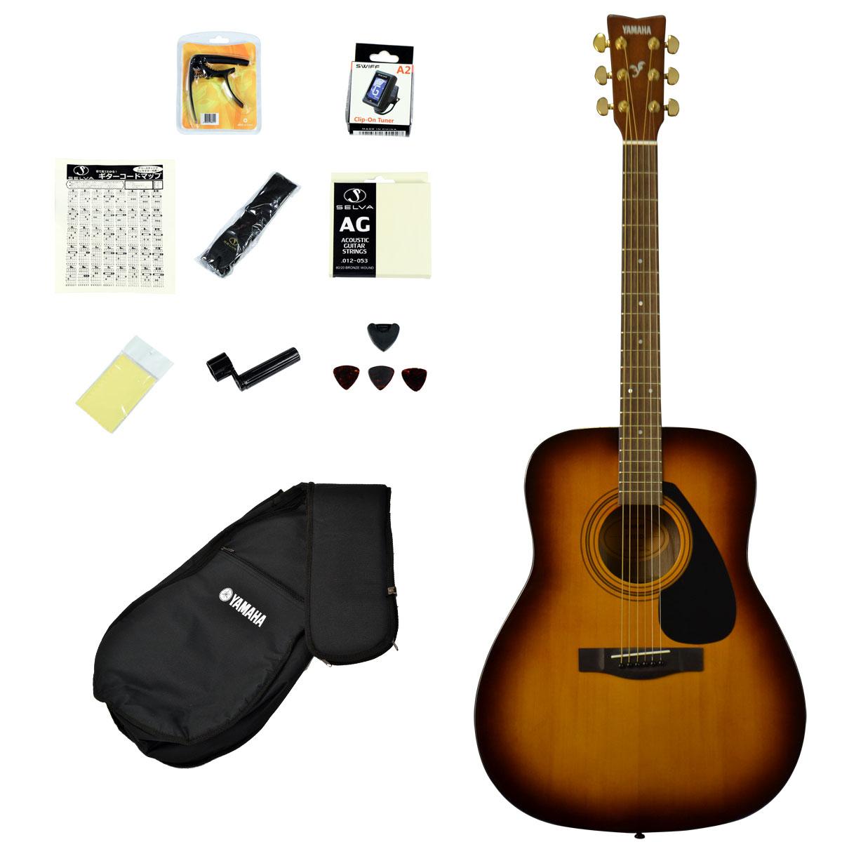 YAMAHA / F315D TBS(タバコブラウンサンバースト)【アコースティックギター12点入門セット!】 ヤマハ アコギ フォークギター F-315D 入門 初心者【YRK】