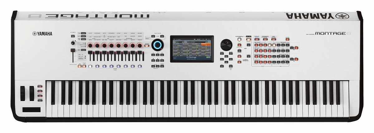 【在庫あり】YAMAHA ヤマハ / MONTAGE8 WH (ホワイト) ミュージックシンセサイザー 88鍵モデル【YRK】