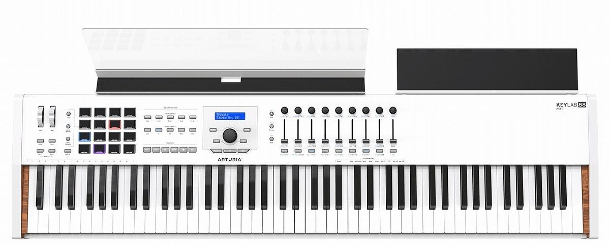 Arturia アートリア / KEYLABMK2 88 WHITE 88鍵盤 マスター・コントローラー【お取り寄せ商品】【YRK】