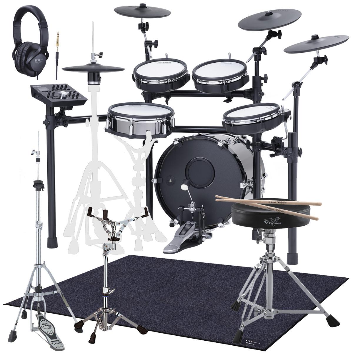 【Rolandキャッシュバック10000円対象】Roland Drum System TD-25KVX KD-180 MDS-STD スターターパック マット付き【YRK】