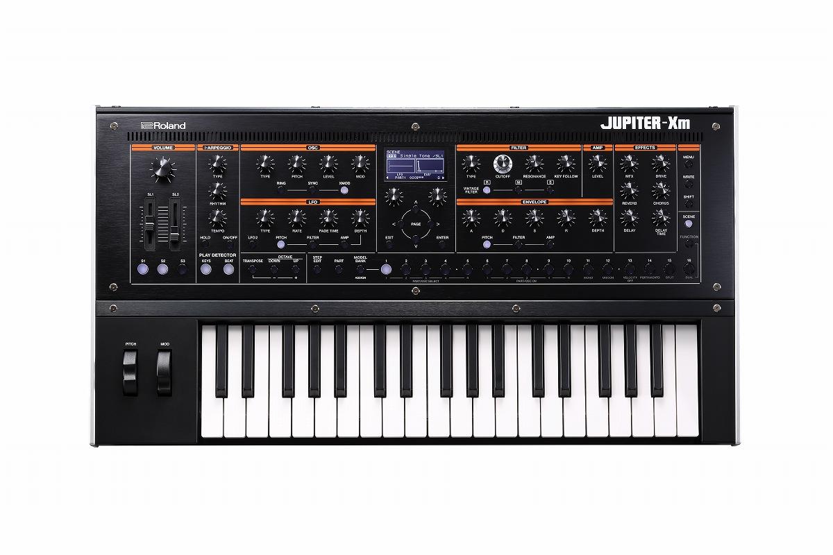 Roland ローランド / JUPITER-Xm モデリング・シンセサイザー《Special Pack USBプレゼント:811186400》【YRK】