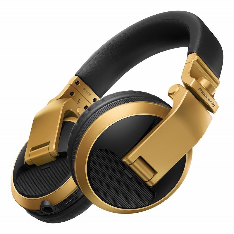 Pioneer DJ パイオニア / HDJ-X5BT-N (ゴールド) ワイヤレスDJヘッドホン【お取り寄せ商品】