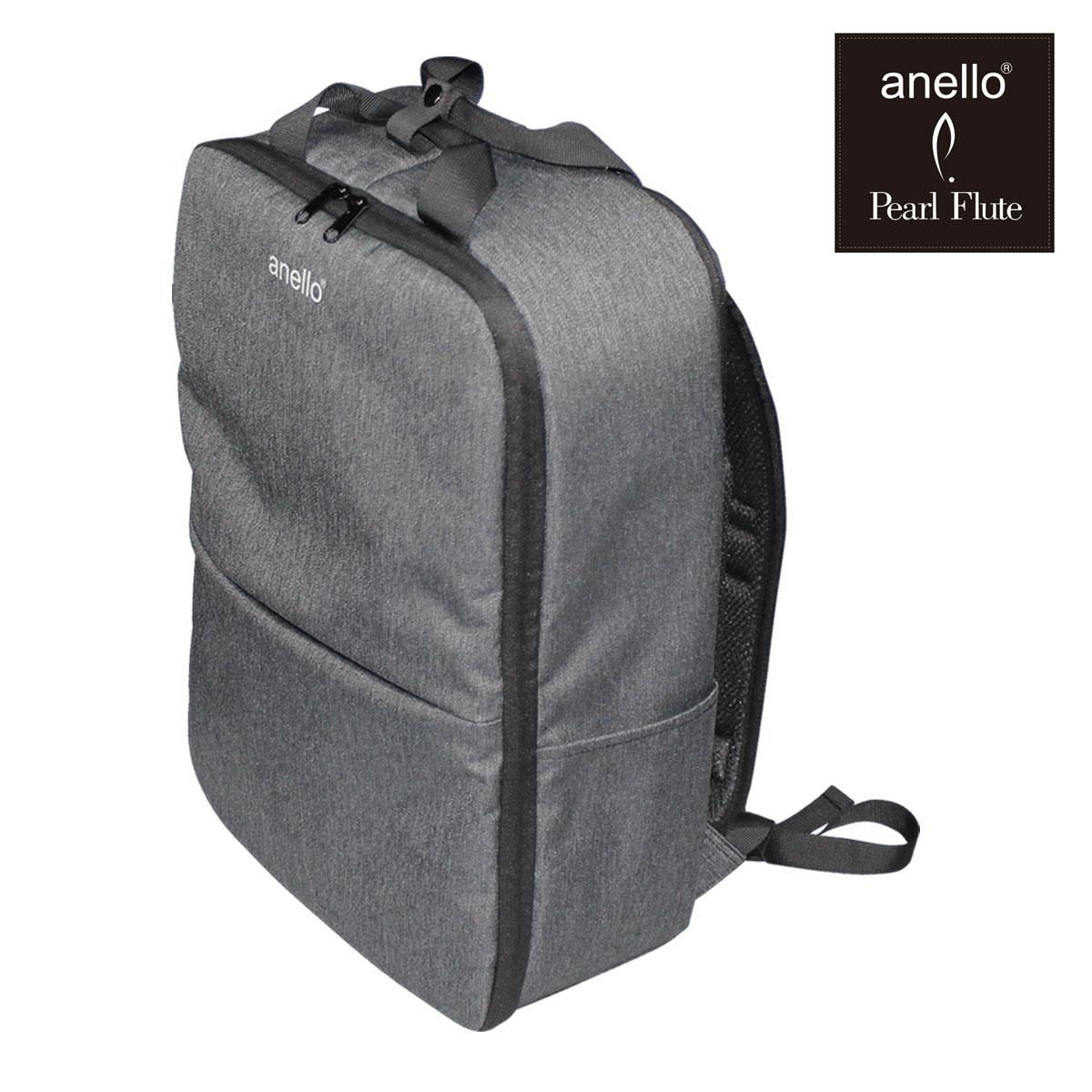 在庫あり Pearl アネロ×パール 全国どこでも送料無料 anello 新着 ANL-FLB1-DB コラボ―レーションバッグ デニムブラック