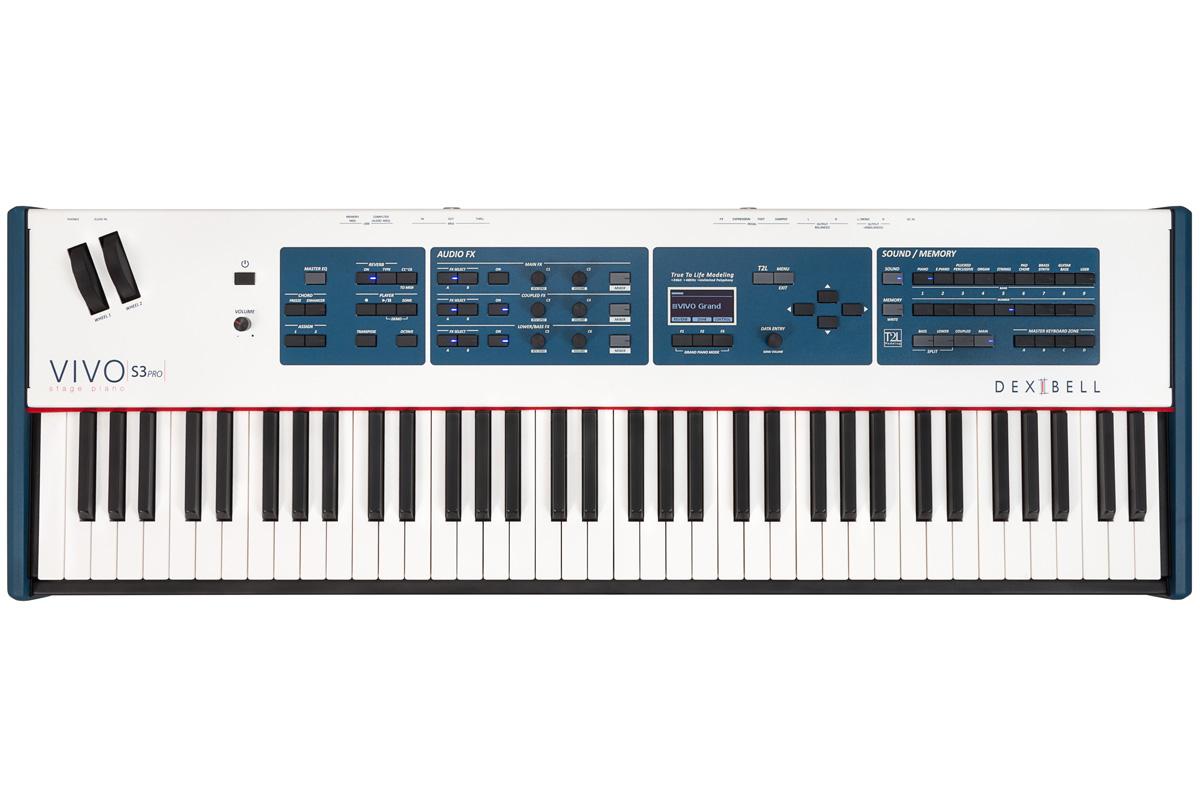 Dexibell デキシーベル / VIVO S3 Pro 73鍵盤 ステージピアノ【お取り寄せ商品】