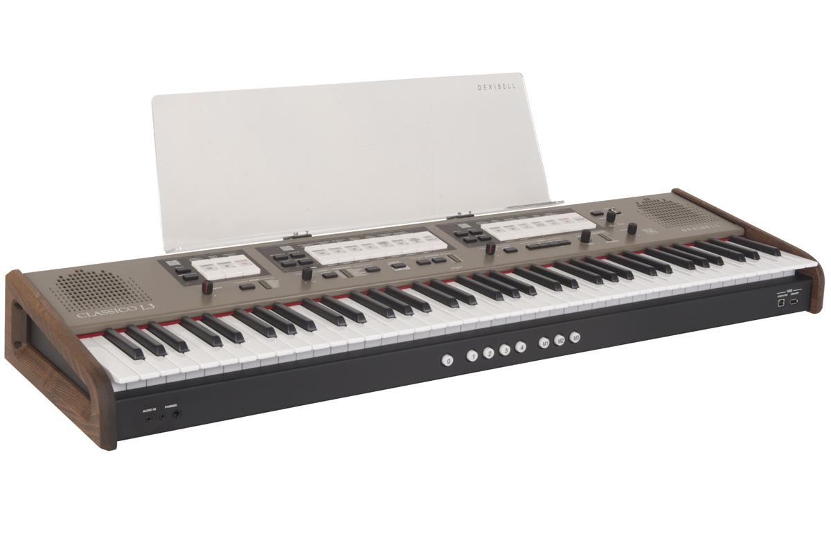 Dexibell デキシーベル / CLASSICO L3 76鍵盤 デジタル・クラシックオルガン【お取り寄せ商品】
