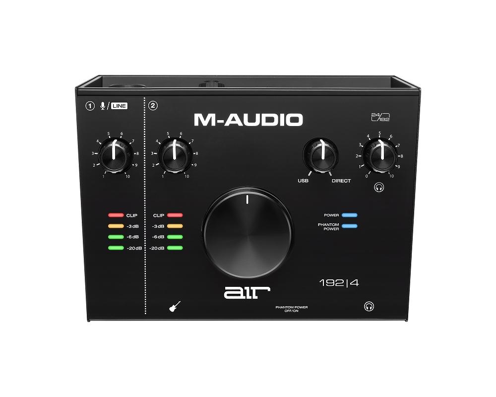 M-Audio エムオーディオ / AIR 192|4 2in/2out USBオーディオインターフェイス【お取り寄せ商品】