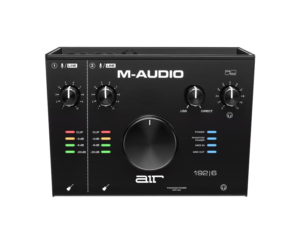 M-Audio エムオーディオ / AIR 192|6 2in/2out USBオーディオ/MIDIインターフェイス【お取り寄せ商品】