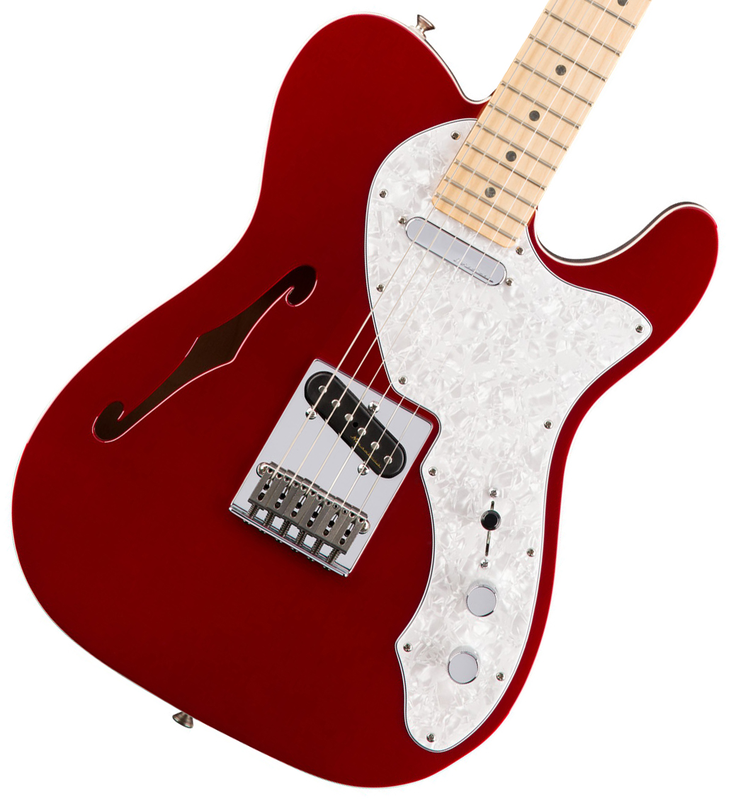 【タイムセール:29日12時まで】Fender / Deluxe Telecaster Thinline Maple Fingerboard Candy Apple Red フェンダー 【WEBSHOP】