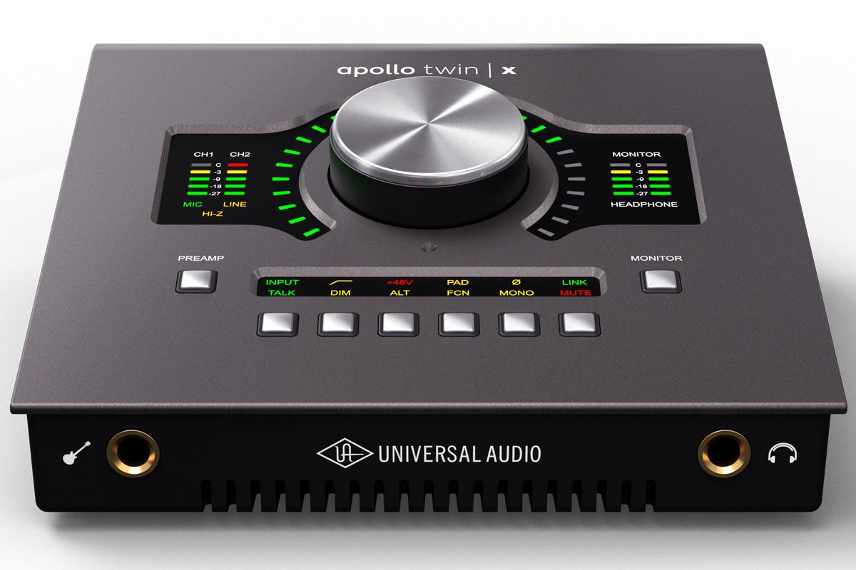 【在庫あり】Universal Audio ユニバーサルオーディオ / Apollo Twin X / Quad Thunderbolt3 オーディオ・インターフェース