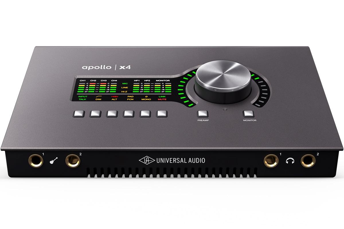 Universal Audio ユニバーサルオーディオ / Apollo x4 Thunderbolt3 オーディオ・インターフェース【お取り寄せ商品】