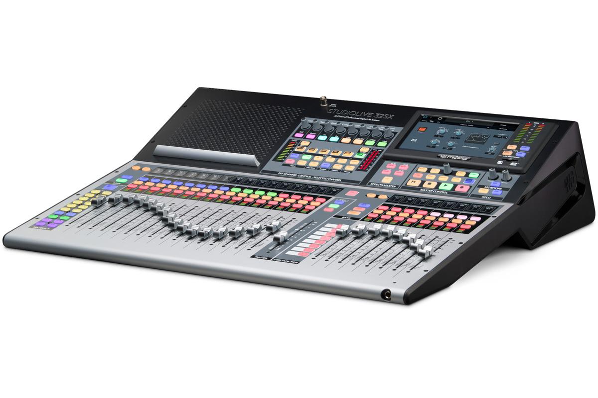 PreSonus プレソナス / StudioLive 32SX 32チャンネルデジタルミキサー【お取り寄せ商品】
