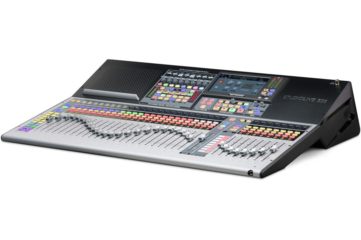 PreSonus プレソナス / StudioLive 32S 32チャンネルデジタルミキサー【お取り寄せ商品】