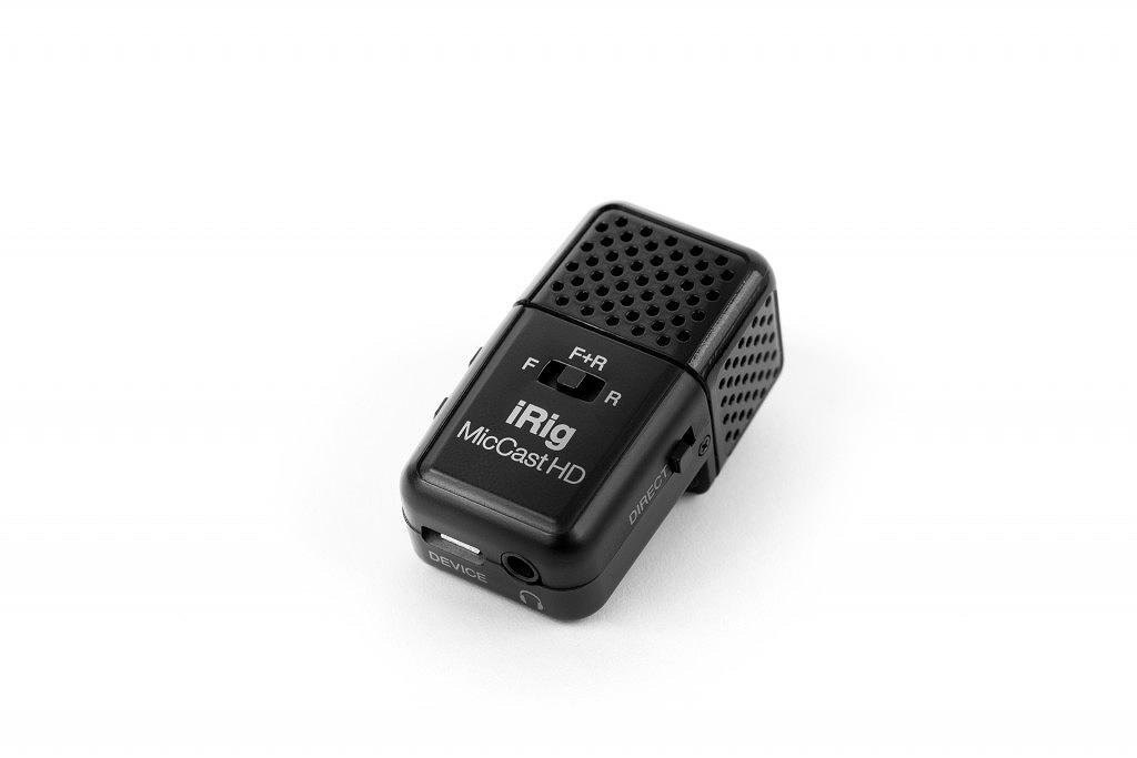 IK Multimedia アイケーマルチメディア / iRig Mic Cast HD デジタル接続マイクロフォン【お取り寄せ商品】