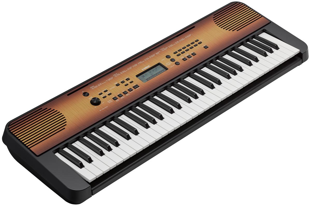 YAMAHA ヤマハ / PSR-E360MA メイプル調 ポータブルキーボード【お取り寄せ商品】《予約注文/納期未定》