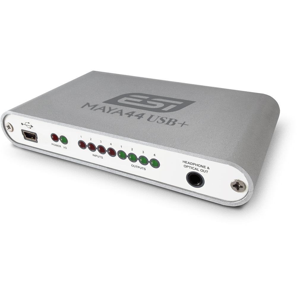 ESI Audiotechnik / MAYA44 USB+ USBオーディオ・インターフェース【お取り寄せ商品】