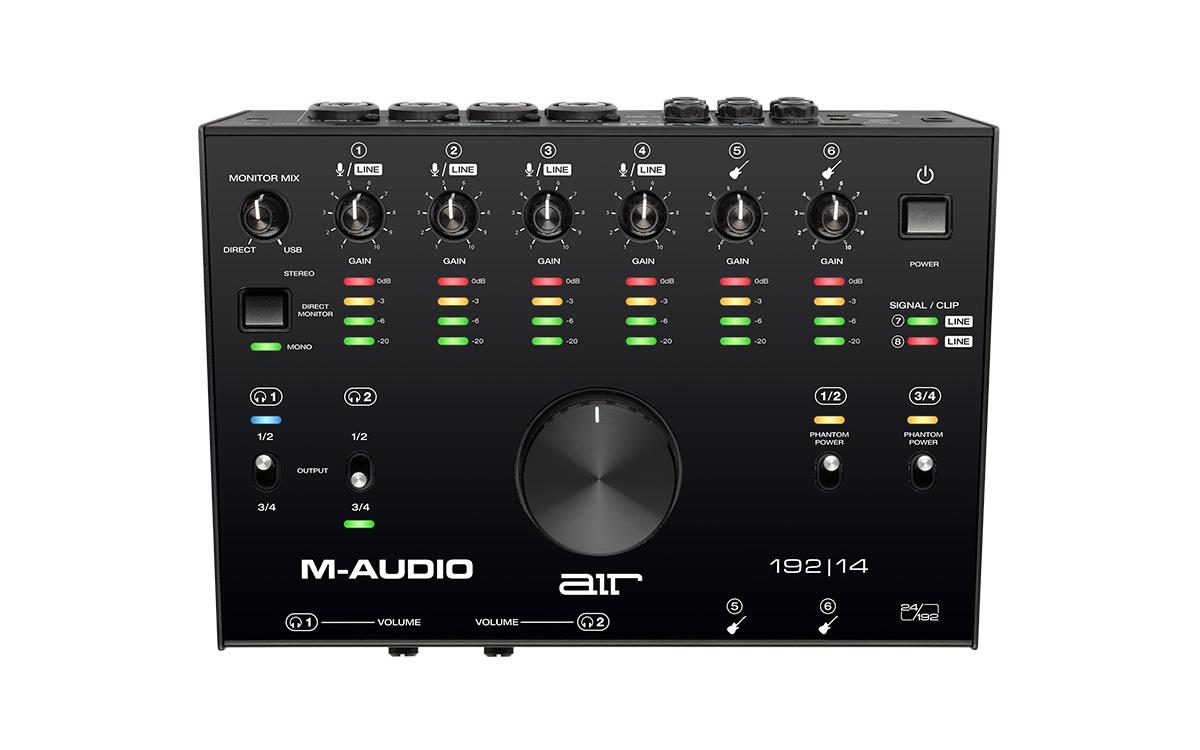 M-Audio エムオーディオ / AIR 192|14 8in/4out USBオーディオインターフェイス【お取り寄せ商品】