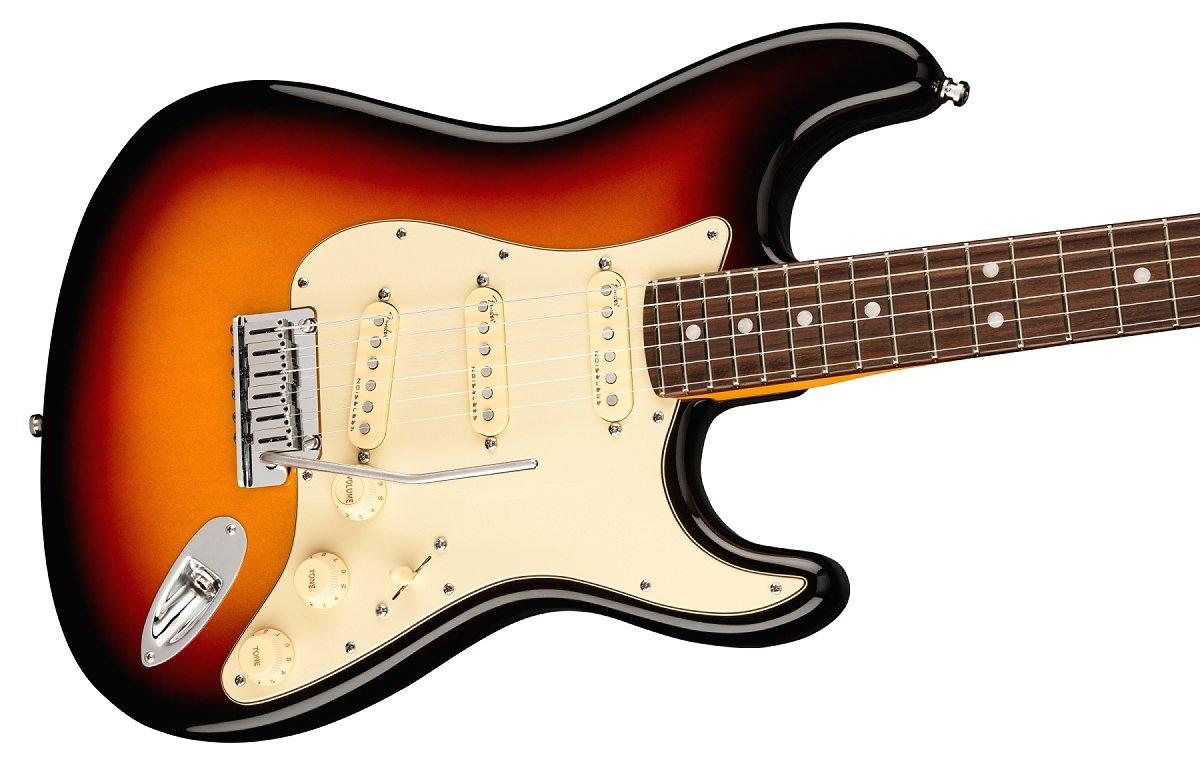 Fender / American Ultra Stratocaster Rosewood Fingerboard Ultraburst フェンダー ウルトラ《Fender/SS2020CAMP》《純正ケーブル&ピック1ダースプレゼント!/+661944400》《超多機能フェンダーアンププレゼント!/+811184700》