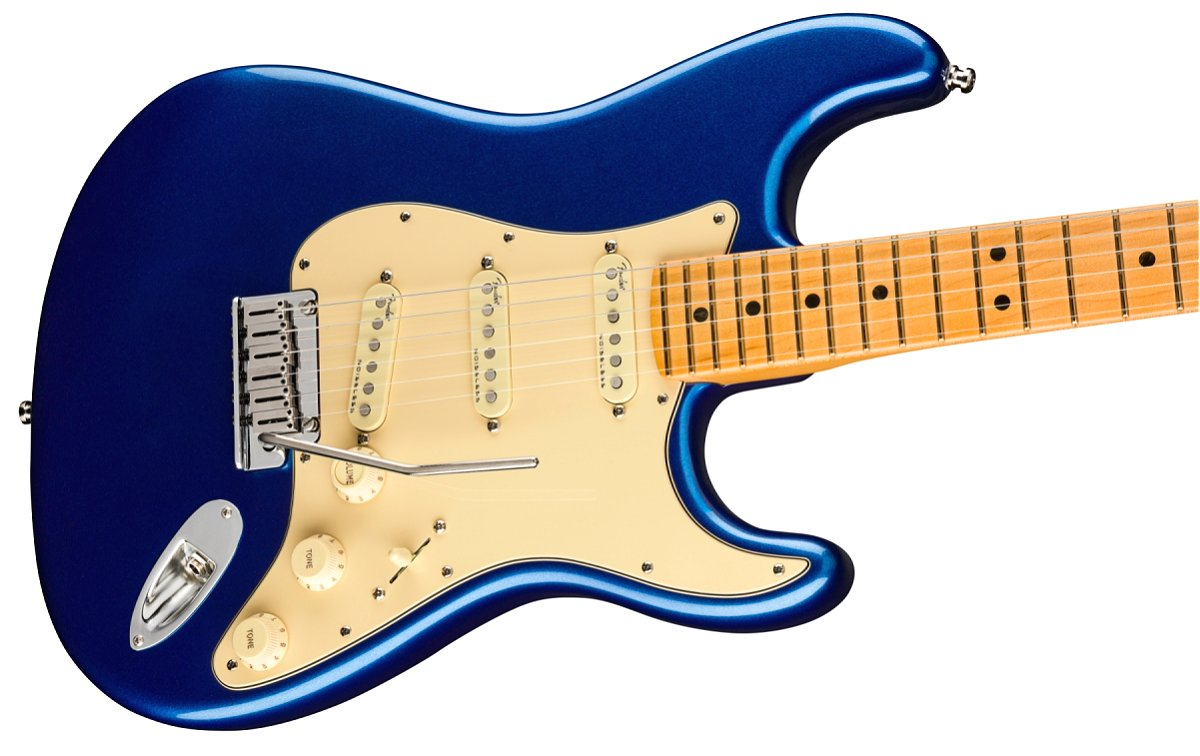Fender / American Ultra Stratocaster Maple Fingerboard Cobra Blue フェンダー ウルトラ《Fender/SS2020CAMP》《純正ケーブル&ピック1ダースプレゼント!/+661944400》《超多機能フェンダーアンププレゼント!/+811184700》