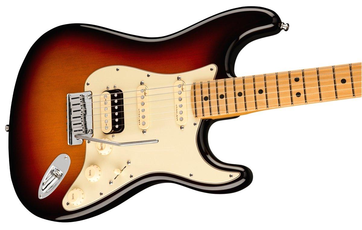 Fender / American Ultra Stratocaster HSS Maple Fingerboard Ultraburst フェンダー ウルトラ《Fender/SS2020CAMP》《純正ケーブル&ピック1ダースプレゼント!/+661944400》《超多機能フェンダーアンププレゼント!/+811184700》