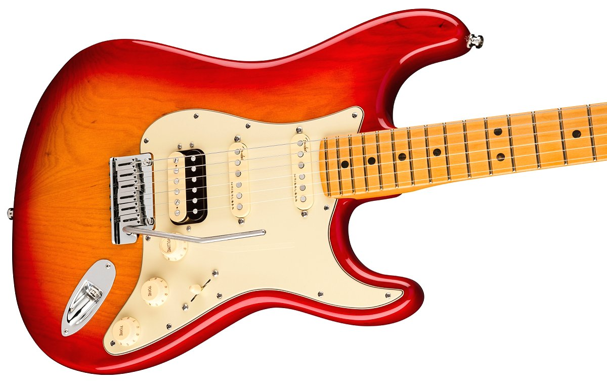 Fender / American Ultra Stratocaster HSS Maple Fingerboard Plasma Red Burst フェンダー ウルトラ《予約注文/1月中旬以降入荷予定》