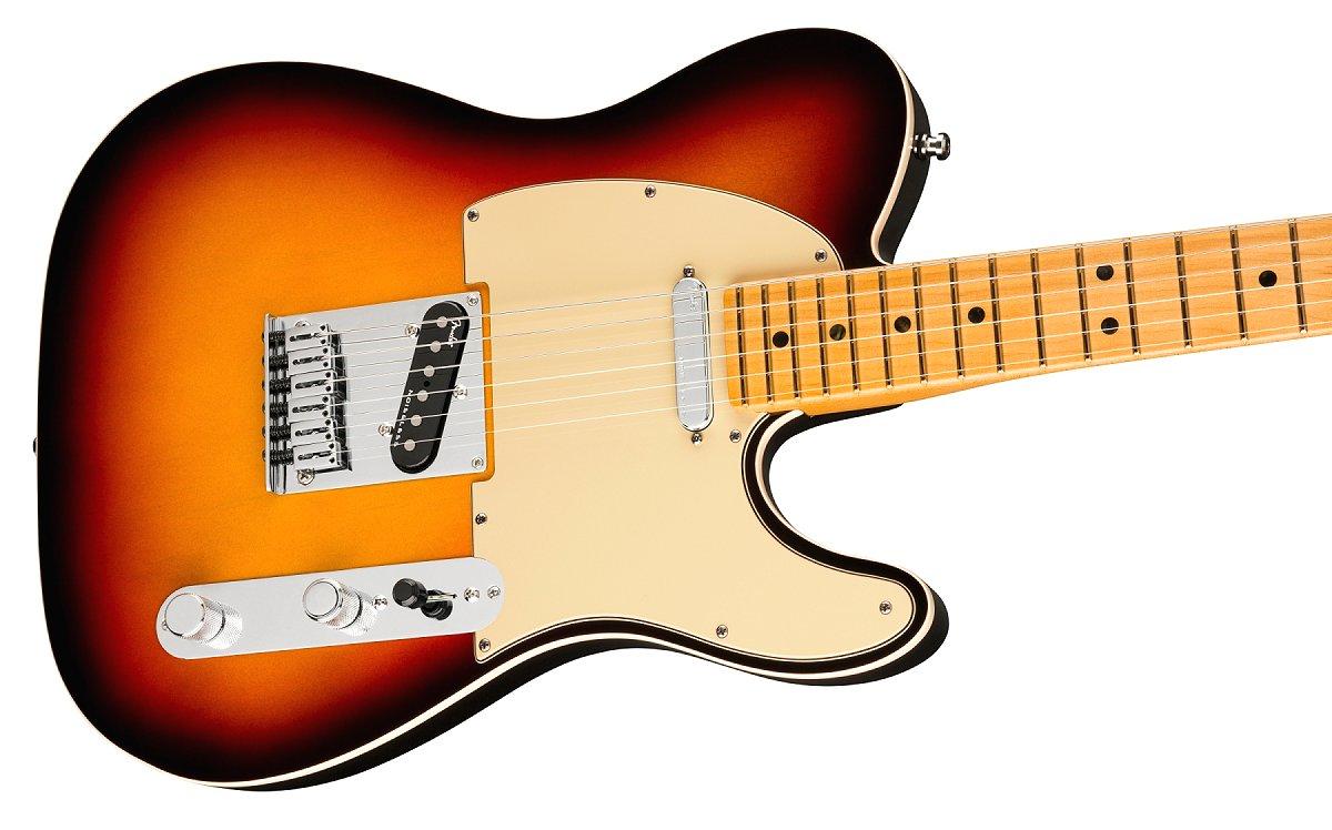 Fender / American Ultra Telecaster Maple Fingerboard Ultraburst フェンダー ウルトラ《Fender/SS2020CAMP》《純正ケーブル&ピック1ダースプレゼント!/+661944400》《超多機能フェンダーアンププレゼント!/+811184700》