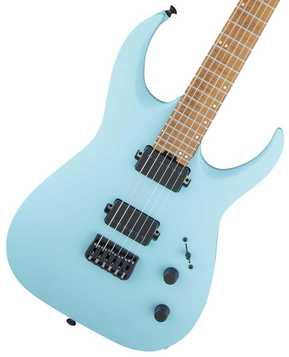 ジェント系ギタリストの第一人者 ミーシャの最新6弦モデル タイムセール:1日12時まで Jackson Artist Signature USA 安値 Misha Mansoor ジャクソン Daphne YRK Satin HT6 《豪華特典つき 当店一番人気 Blue +80-ugm-fx2std》 Juggernaut
