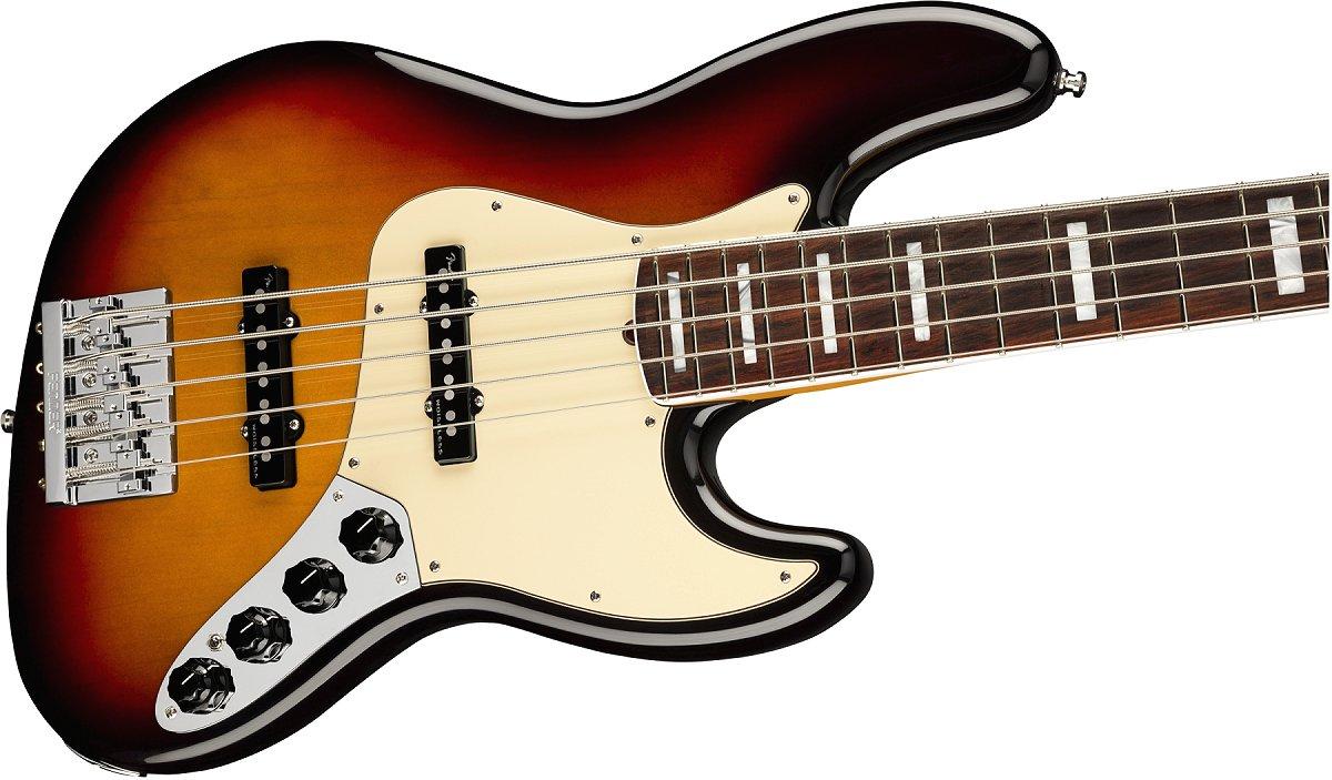 Fender / American Ultra Jazz Bass V Rosewood Fingerboard Ultraburst フェンダー ウルトラ【新品特価】《Fender/SS2020CAMP》《純正ケーブル&ピック1ダースプレゼント!/+661944400》