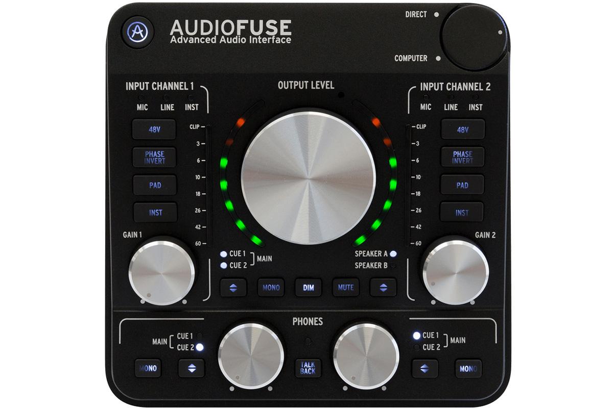Arturia アートリア / Audio Fuse2 (AudioFuse) USBオーディオ・インターフェイス【お取り寄せ商品】【YRK】