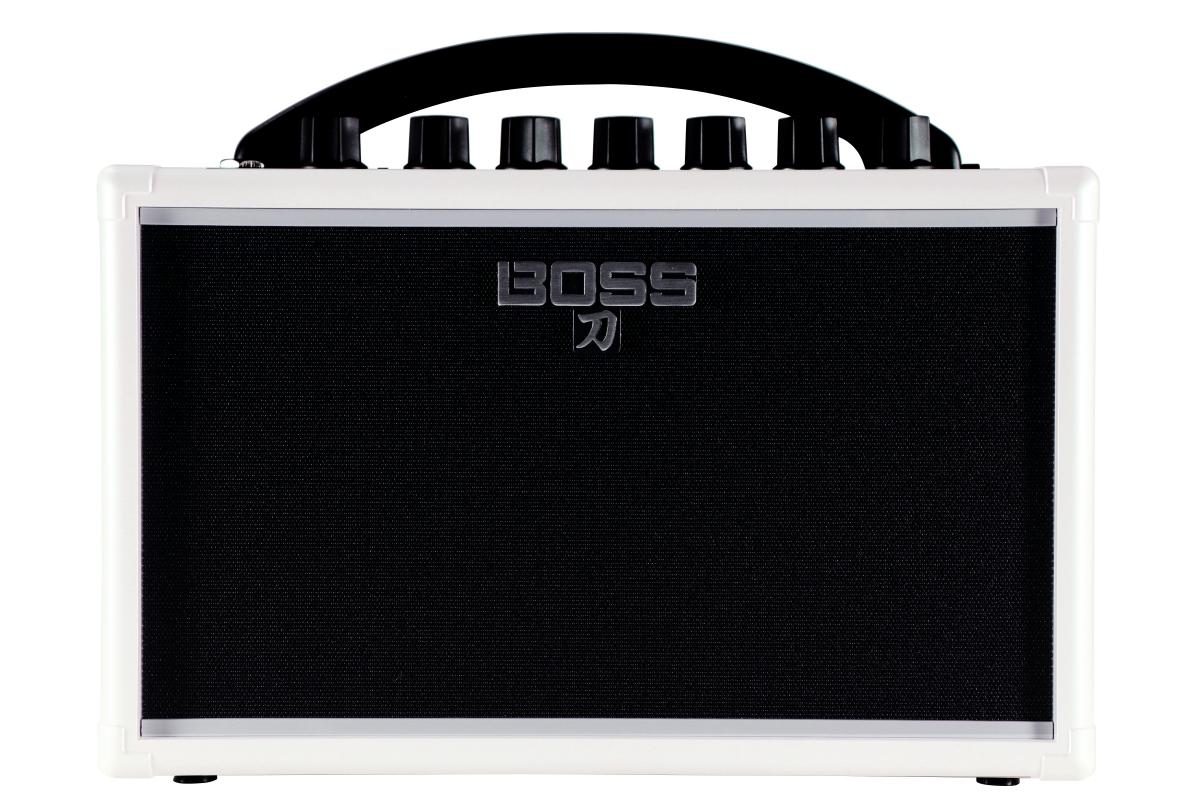 【在庫有り】 BOSS / KATANA-MINI WHITE (KTN-MINI WH) 【イシバシ楽器限定販売モデル】 ボス ギターアンプ 電池駆動 ポータブルアンプ KATANA 【YRK】
