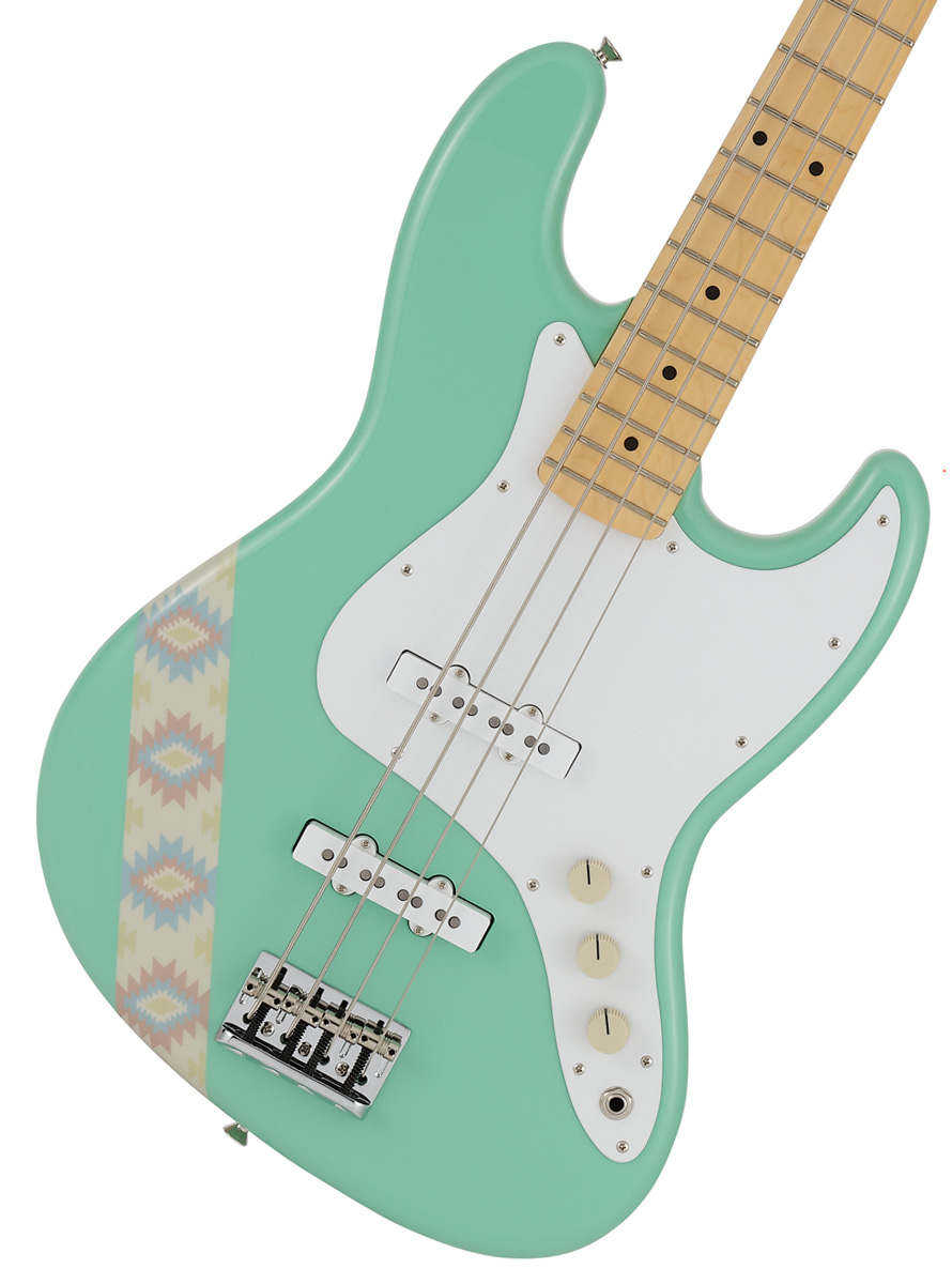 Fender / Made In Japan SILENT SIREN Jazz Bass Maple Fingerboard Surf Green【サイサイあいにゃんモデル】《予約注文/12月以降発売予定》