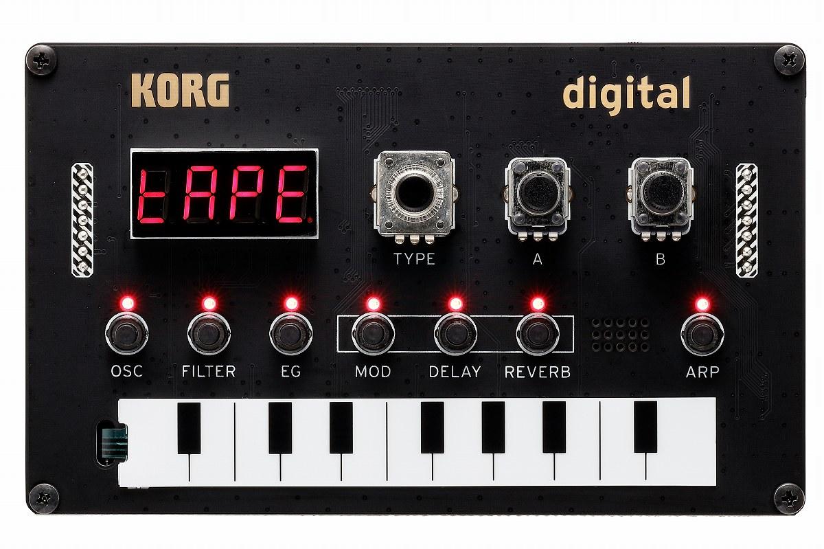 【在庫あり】KORG コルグ / Nu:Tekt NTS-1 digital KIT コンパクトDIYシンセキット【YRK】