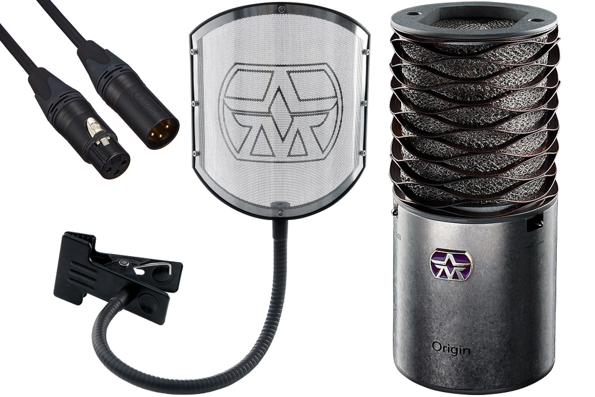 Aston Microphones アストンマイクロフォンズ / AST-ORIGIN(N)【純正ポップフィルター&ケーブルセット!】コンデンサーマイク【YRK】