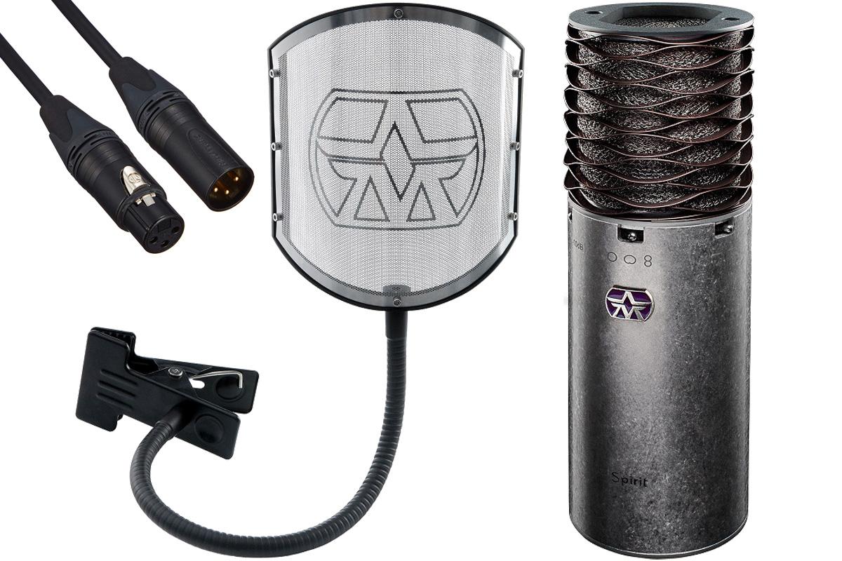 Aston Microphones アストンマイクロフォンズ / AST-SPIRIT(N)【純正ポップフィルター&ケーブルセット!】コンデンサーマイク【YRK】