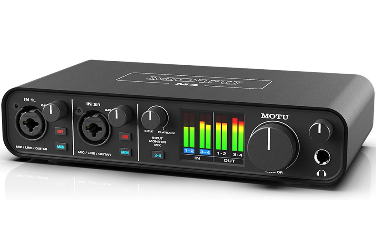 MOTU マークオブザユニコーン / M4 USB-Cオーディオ・インターフェース《予約注文/2020年1月中旬以降入荷予定》