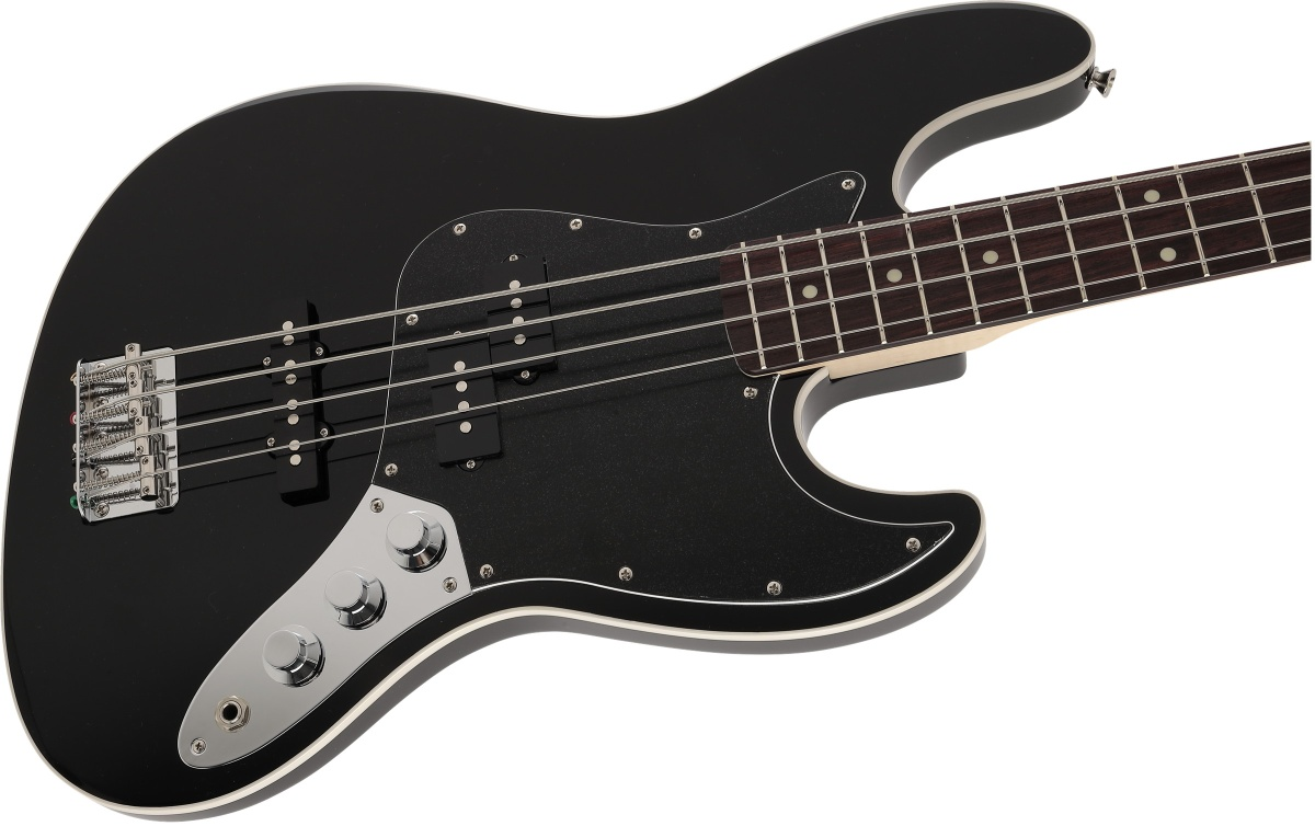 Fender / Made in Japan Aerodyne II Jazz Bass Rosewood Fingerboard Black フェンダー《純正チューナーとピック12枚プレゼント!/+811179700》