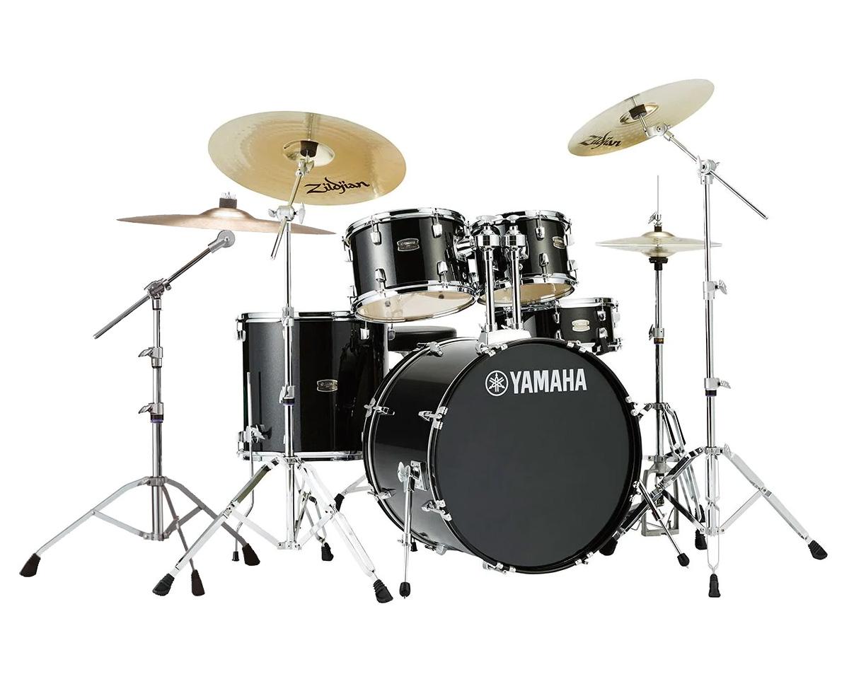 YAMAHA / RDP2F5 BLG ヤマハ ライディーン 22BD ドラムセット ジルジャンZBT 3シンバルセット (スタンダードサイズ)【YRK】