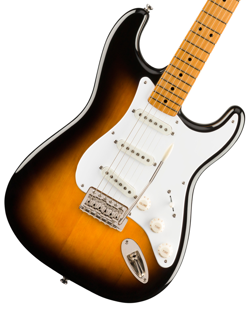 Squier by Fender / Classic Vibe 50s Stratocaster Maple Fingerboard 2-Color Sunburst スクワイヤー